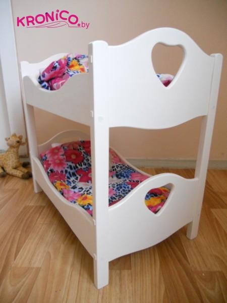 Кроватка для куклы своими руками мастер класс